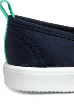 Slip-on trainers - Dark blue - Kids | H&M CN 3