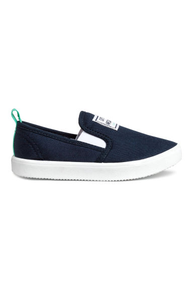 Slip-on trainers - Dark blue - Kids | H&M CN 1