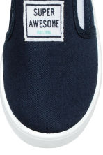 Sneakers slip-on - Blu scuro - BAMBINO | H&M IT 4