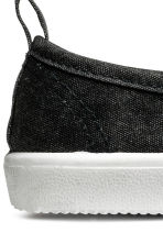 Slip-on trainers - Dark grey washed out -  | H&M 3