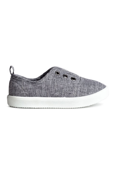 Tennis en toile - Gris/chambray - ENFANT | H&M BE 1