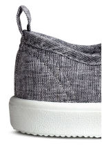 Canvas trainers - Grey/Chambray - Kids | H&M 3