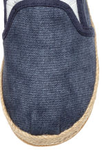 Slip-on espadrilles - Dark blue washed out - Kids | H&M 4
