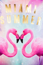 Patterned swimsuit - Pink/Flamingo -  | H&M 2