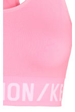Sports bra Low support - Neon pink - Ladies | H&M 3
