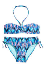 Patterned bikini - Blue/Pink - Kids | H&M CN 1