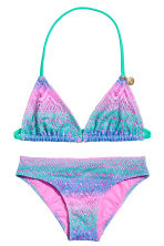 Triangle bikini - Pink/Green - Kids | H&M 1