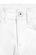 Skinny fit Jeans - White - Kids | H&M 4