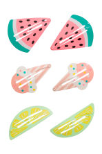 3-pack hair clips - Pink -  | H&M 1