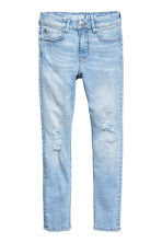 Superstretch Skinny fit Jeans - 浅牛仔蓝 - Kids | H&M CN 2