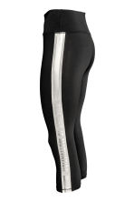 Leggings sportivi a tre quarti - Nero - DONNA | H&M IT 3