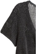Loose-knit top - Black - Ladies | H&M CN 3