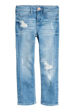Slim fit Worn Jeans - Light denim blue - Kids | H&M CA 2