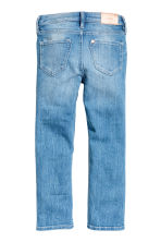 Slim fit Worn Jeans - 浅牛仔蓝 - 儿童 | H&M CN 3