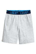 2-pack pyjama shorts - Grey marl - Kids | H&M 2