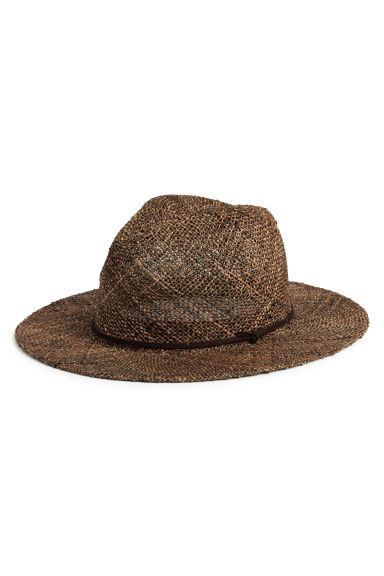 Straw hat - Brown - Men | H&M CN 1