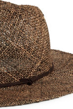 Straw hat - Brown - Men | H&M CN 2