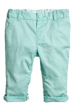 Chinos - Mint green -  | H&M 1