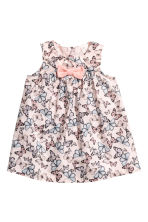 Cotton dress - Light pink/Butterflies -  | H&M 1