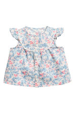Blouse and shorts - Light pink/Floral -  | H&M CA 2