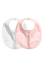 2-pack jersey bibs - White - Kids | H&M CN 1