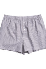 3-pack boxer shorts - Burgundy/Checked - Men | H&M 3