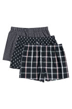 3-pack boxer shorts - Black/Pineapple - Men | H&M CN 2