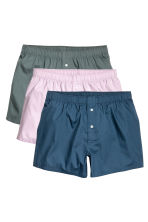 3-pack boxer shorts - Dark blue/Light pink - Men | H&M CN 2