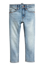 Reinforced Skinny Fit Jeans - Light denim blue - Kids | H&M 2