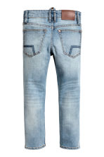 Reinforced Skinny Fit Jeans - Light denim blue - Kids | H&M 3
