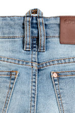 Reinforced Skinny Fit Jeans - Light denim blue - Kids | H&M 4