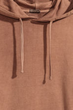 Washed hooded top - Camel - Men | H&M 2