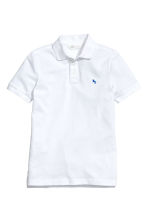 Polo shirt - White - Kids | H&M CN 2