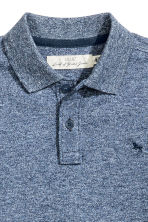 Polo shirt - Dark blue marl - Kids | H&M 3