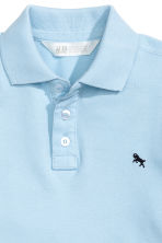 Polo shirt - Light blue - Kids | H&M CN 3