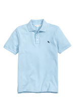 Polo shirt - Light blue - Kids | H&M CN 2