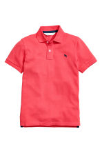 Polo shirt - Coral red - Kids | H&M 2