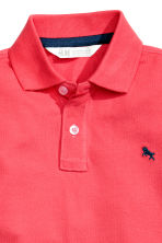 Polo shirt - Coral red - Kids | H&M 3