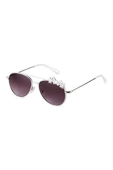 Sunglasses - Silver/White -  | H&M 1