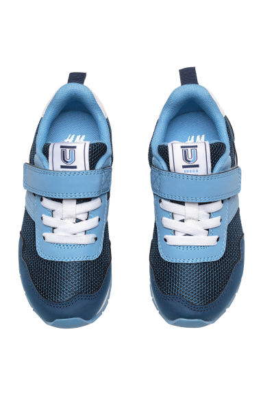 Mesh trainers - Dark blue/Blue - Kids | H&M CN 1