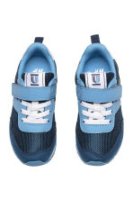 Mesh trainers - Dark blue/Blue - Kids | H&M 1
