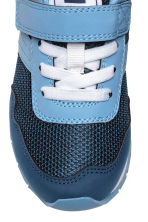 Mesh trainers - Dark blue/Blue - Kids | H&M CN 3