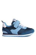 Mesh trainers - Dark blue/Blue - Kids | H&M CN 2