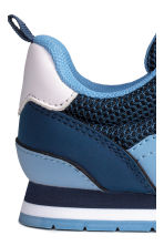 Mesh trainers - Dark blue/Blue - Kids | H&M 4