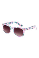Sunglasses - White/Butterflies - Kids | H&M 1
