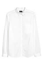 Cotton shirt Regular fit - White - Men | H&M 2