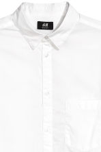 Cotton shirt Regular fit - White - Men | H&M 3