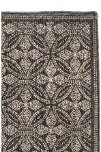 Patterned bath mat - Anthracite grey/Natural white - Home All | H&M CN 3