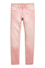Skinny Low Jeans - Light pink denim - Men | H&M CN 2