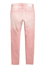 Skinny Low Jeans - Light pink denim - Men | H&M CN 3